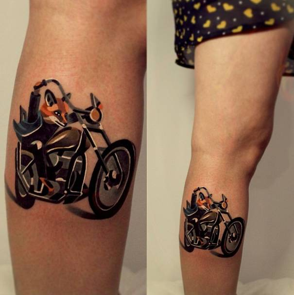 These Tattoos Are A Departure From Traditional Tattoo Styles And