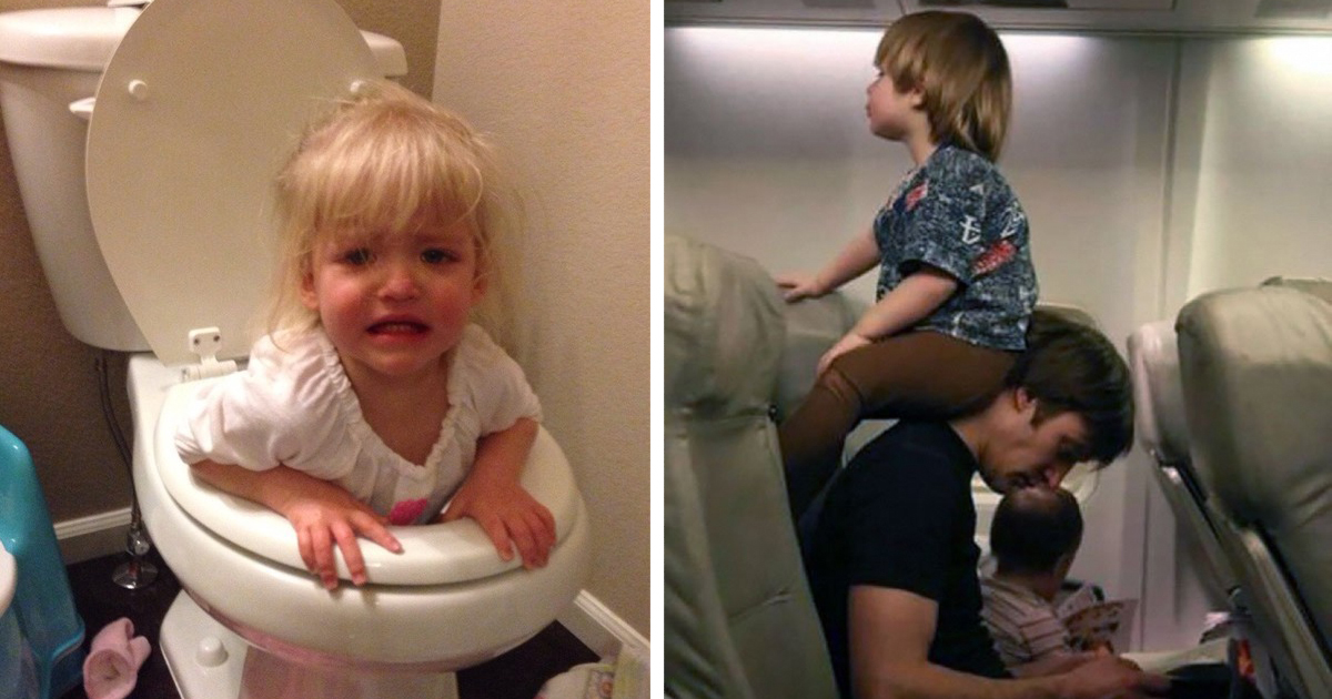 30 hilarious examples of what parenting really looks like deveoh